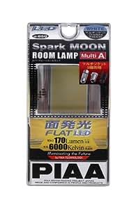 PIAA ( ピア ) LEDルームランプ プレート型 170lm 【スパークムーン6000】 Multi A ( T10・T10X31・G14対応 ) 12V3W H-850