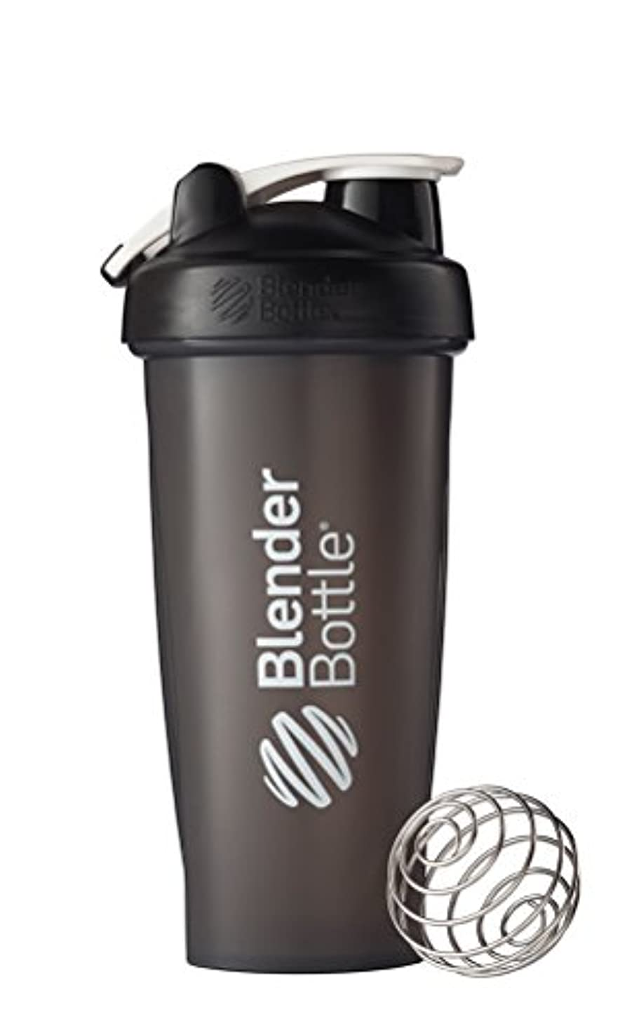 気分が悪い五十助言BlenderBottle Classic Loop Top Shaker Bottle, Black, 28 Ounce by Blender Bottle