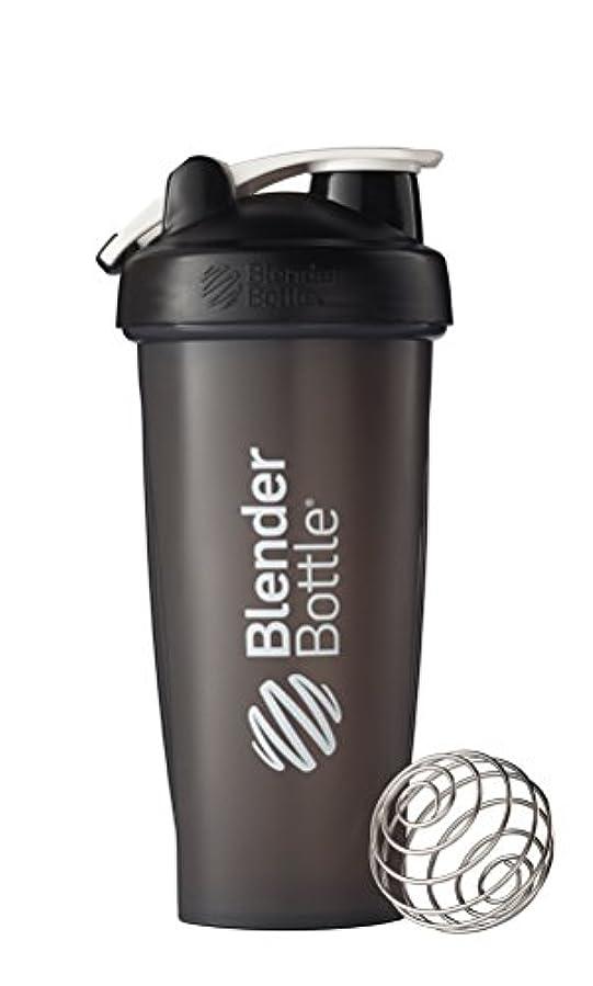 ゴルフ不純悪性BlenderBottle Classic Loop Top Shaker Bottle, Black, 28 Ounce by Blender Bottle