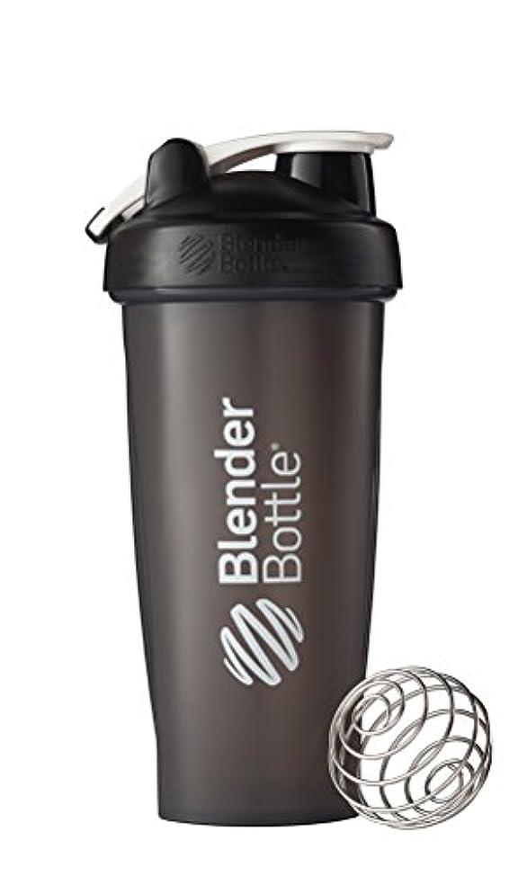 日食平手打ち消毒するBlenderBottle Classic Loop Top Shaker Bottle, Black, 28 Ounce by Blender Bottle