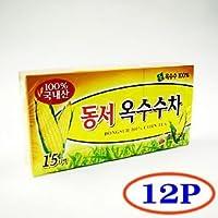 韓国茶 とうもろこしコーン茶ティーパック 12箱