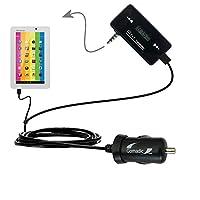 第3世代強力なオーディオFM送信機with車充電器Suitable for the Polaroid pmid705–Uses Gomadicテクノロジー