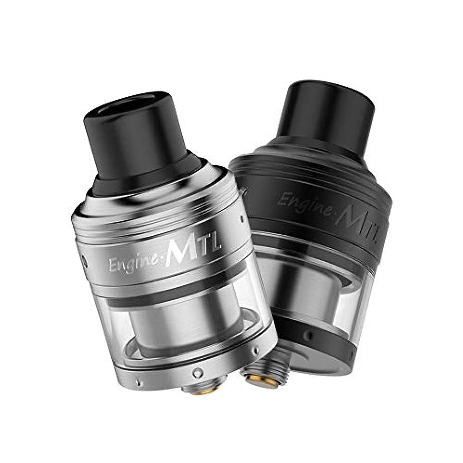 娯楽寸前変更電子タバコ アトマイザー RTA OBS Engine MTL RTA 2ml 24mm 選べるカラー 2色 (① シルバー)