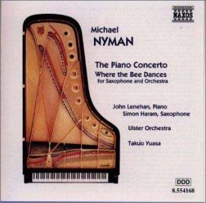 ナイマン:ピアノ協奏曲/蜜蜂が踊る場所