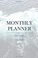 Monthly Planner 2034/2035; Nobody is perfect.: Student Planner 2034/2035; plan your next steps to reach your Goals, extra 'to-do' and 'important'-boxes, to-do checklist and 4-WEEK-OVERVIEW for the best overview and clean organization