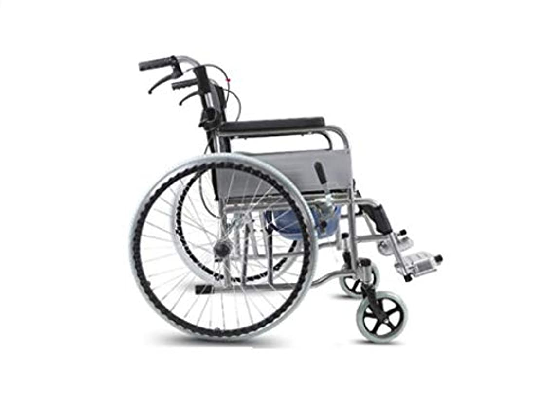 慢な小康変動する車椅子折りたたみ、高齢者障害者、屋外旅行車椅子トロリー、クマ280 Kg