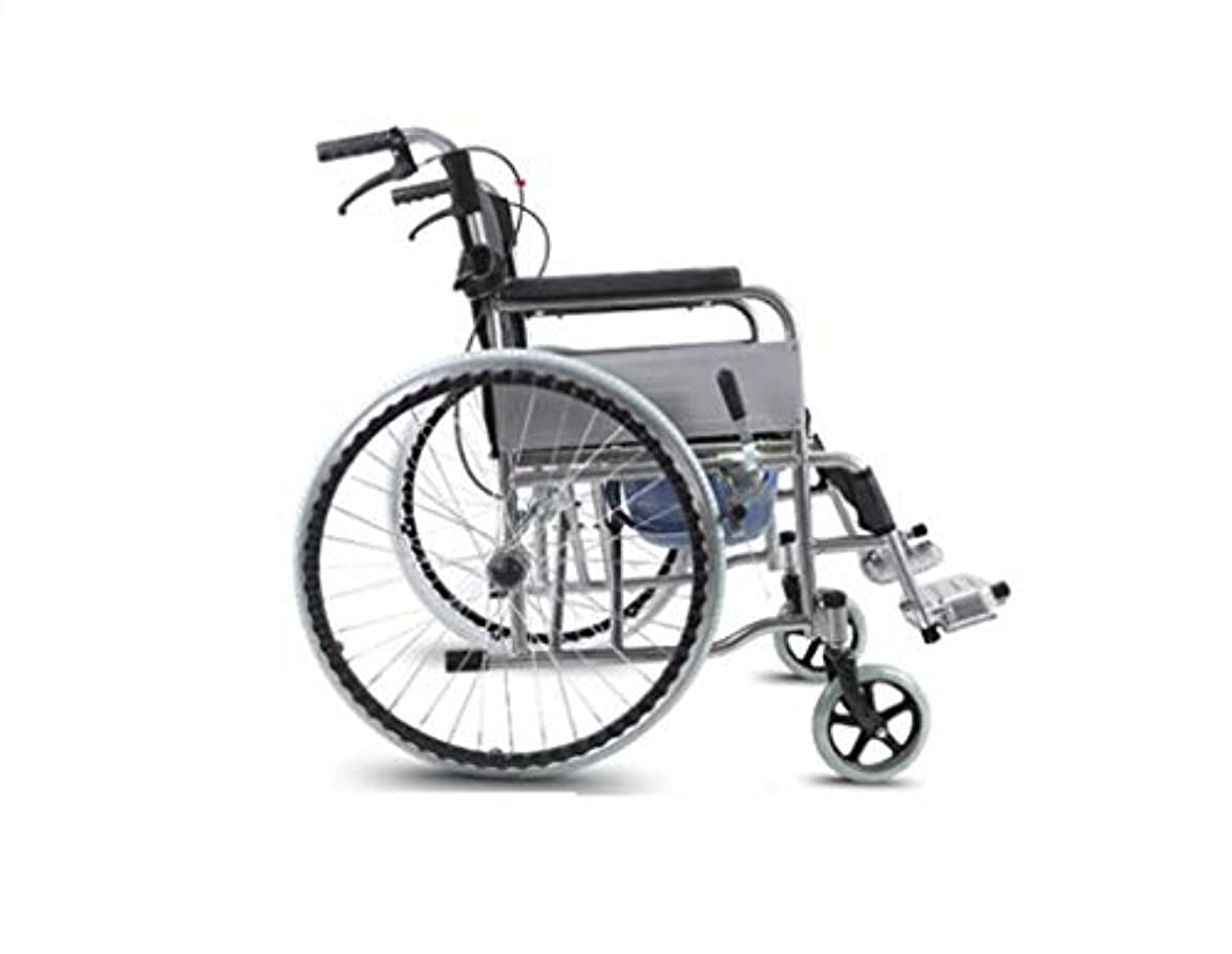 制約実験入植者車椅子折りたたみ、高齢者障害者、屋外旅行車椅子トロリー、クマ280 Kg