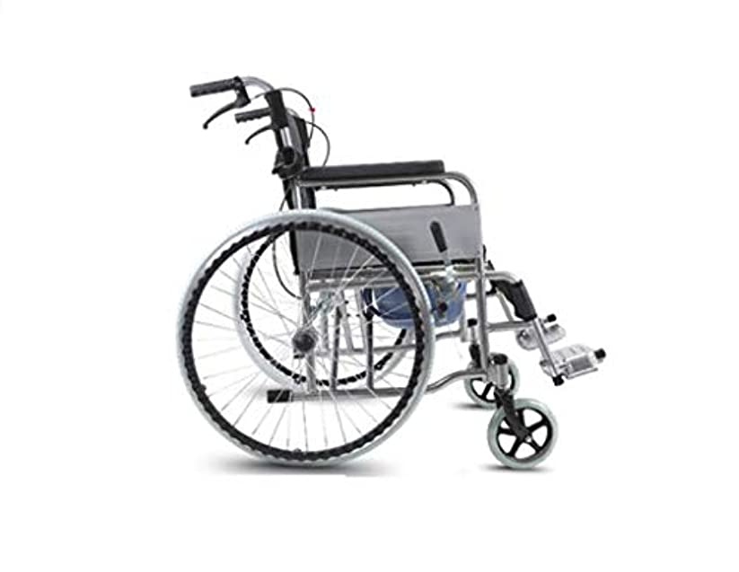 マスタードでる町車椅子折りたたみ、高齢者障害者、屋外旅行車椅子トロリー、クマ280 Kg