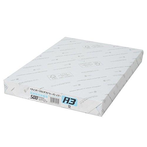 ダイオーマルチカラープリンタ用紙 76431 A3 1箱(1500枚) 空色