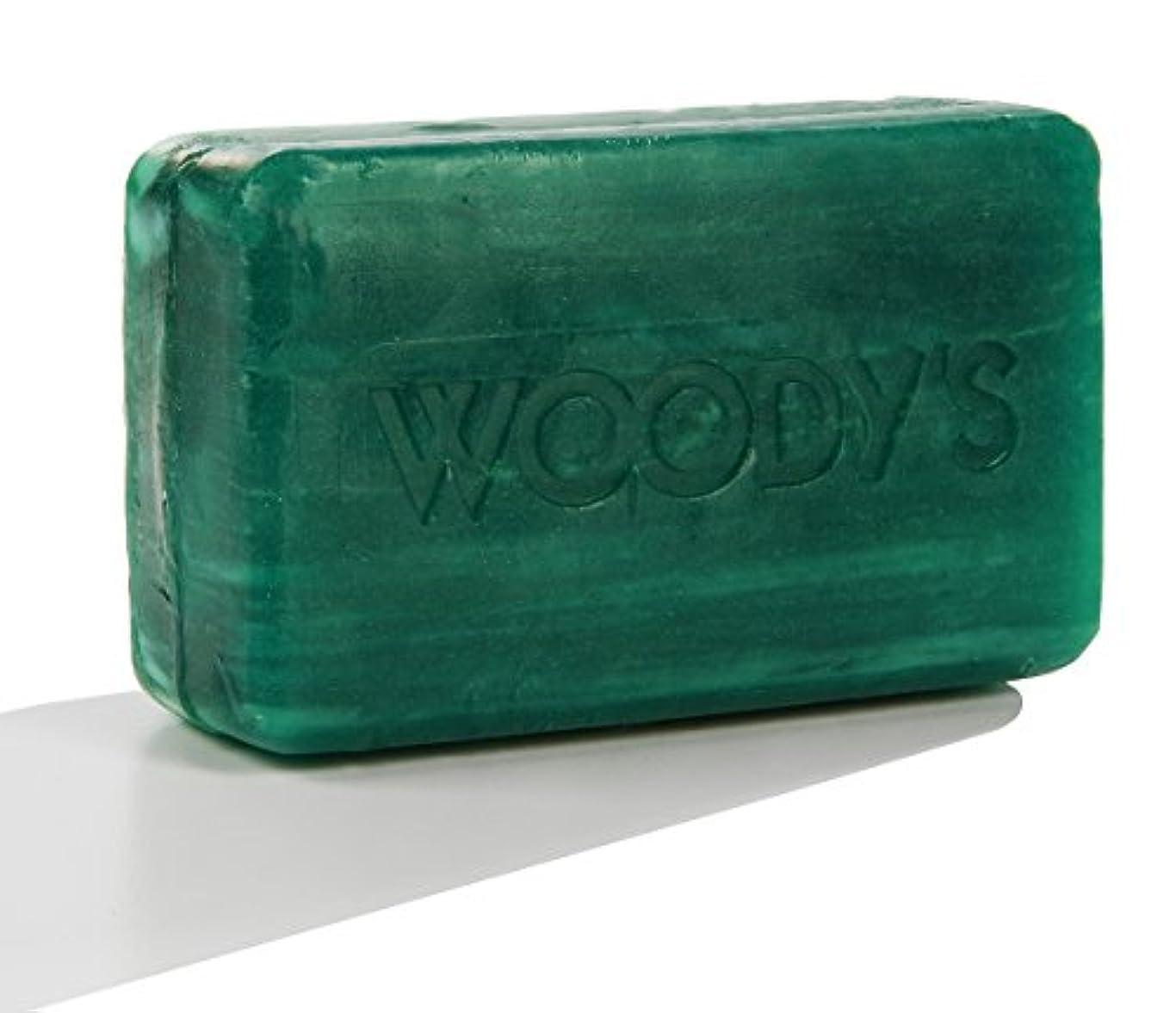 空の傾く使い込むWoody's Moisturizing Bar 8oz
