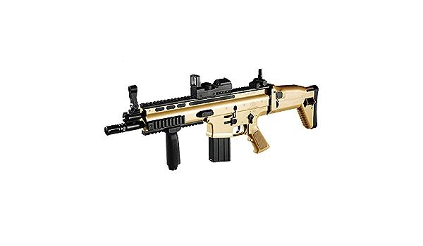 Academy #17111 FN SCAR-L CQC Assault TAN Rifle Spring Powered Airsoft Gun 6mm
