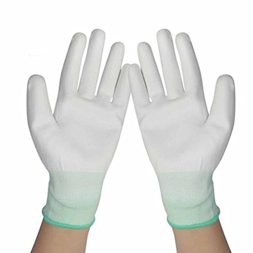 頬骨未亡人池使い捨て手袋 労働保険の保護ナイロン浸漬手袋防塵の帯電防止通気性耐摩耗手袋 (Size : 40 pairs)