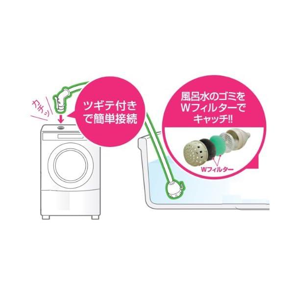 SANEI 【風呂水給水ホースセット】 7M ...の紹介画像2