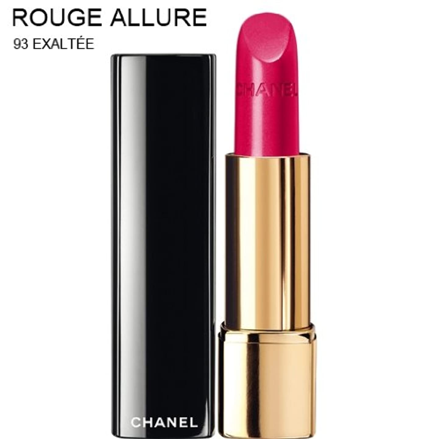 大きいためにラジカルCHANEL ROUGE ALLURE INTENSE LONG-WEAR LIP COLOUR [並行輸入品] (93 EXALTEE)