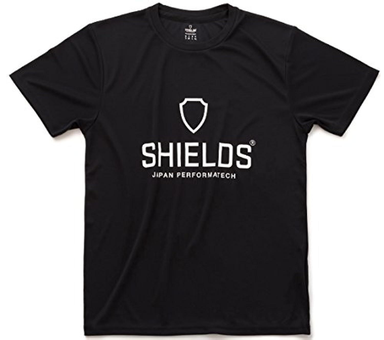 SHIELDS(シールズ) シャツ 半袖 トレーニングシャツ ビッグロゴ Tシャツ M-TS01-01 ブラック S