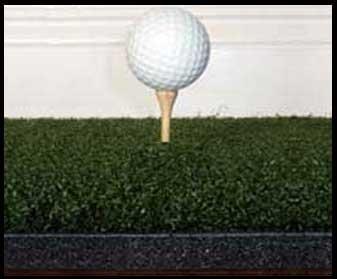 3' x5'ゴリラPerfect Reactionゴルフマット。使用Real Wood Tees。At Last a No Bounce、ヒットDown & Throughゴルフマット。次の世代のゴルフマット。No。必要なゴムTeesNo Club衝撃13/ 4インチ厚。