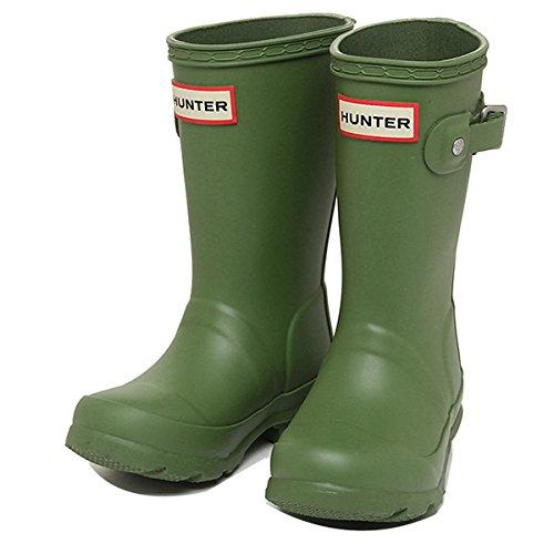 ハンター ブーツ キッズ HUNTER KFT5000RMA PGN ORIGINAL KIDS レインブーツ/長靴 PEA GREEN[並行輸入品]