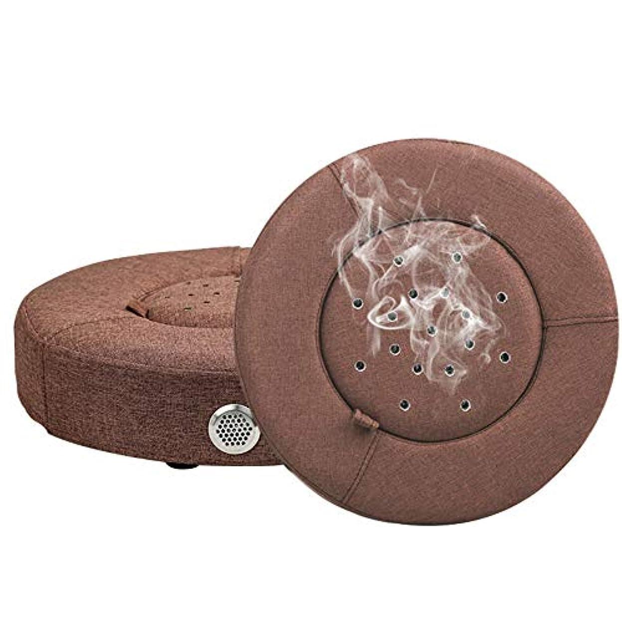 組み込む転送想像する鍼治療バーナー座る椅子木材灸クッション多機能灸ヒートパッドボックススツール枕オフィスホームクッション