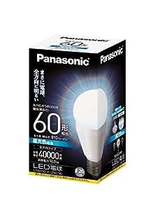 パナソニック LED電球 EVERLEDS 一般電球タイプ 全方向タイプ 10.0W  (昼光色相当) E26口金 電球60W形相当 810 lm LDA10DGZ60W