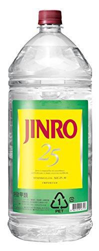 JINRO 25度 PET 4l -