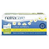 Natracare Regular Organic Cotton Tampons with Applicator 16 Pack, 16 count, Pack of 16