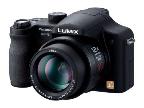 Panasonic デジタルカメラ LUMIX DMC-FZ7-K ブラック