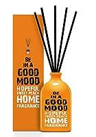BE IN A GOOD MOOD ルームフレグランス スティック タイプ SWEET PEACHの香り (100ml)
