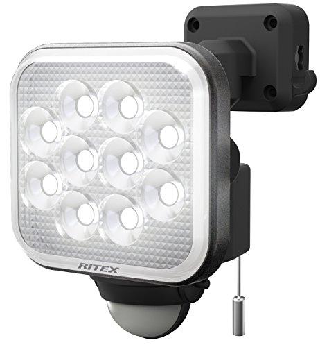 ライテックス 12W×1灯 フリーアーム式 LEDセンサーライト LED-AC1012