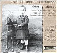 Impressions of Childhood / Solomon, Saunders