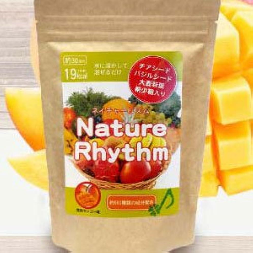 苦しむ急いでどうしたのNature Rhythm スーパーフードMIX酵素スムージー グリーンスムージー ダイエット (完熟マンゴー, 200g)