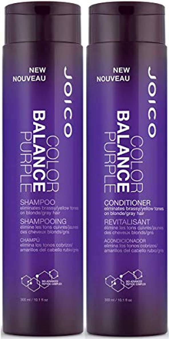 比べる人報酬Joico Color Balance Purple Shampoo Plus Conditioner 10.1 oz.