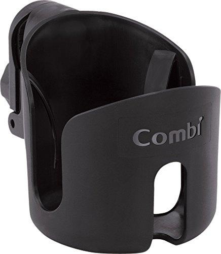 コンビ ベビーカー専用設計 カップホルダー ブラック
