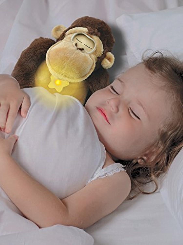Wunders Gordon the Gorilla - Sleeptrainer and Nightlight, Brown/Tan by Wunders