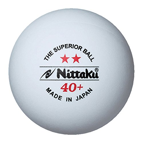 ニッタク(Nittaku) 練習球 プラ2スター(3個り) NB-1320(Men'sLady'sJr)