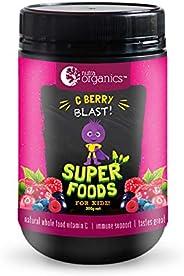 Nutra Organics C Berry Blast Super Foods Powder for Kidz 200 g, 200 grams