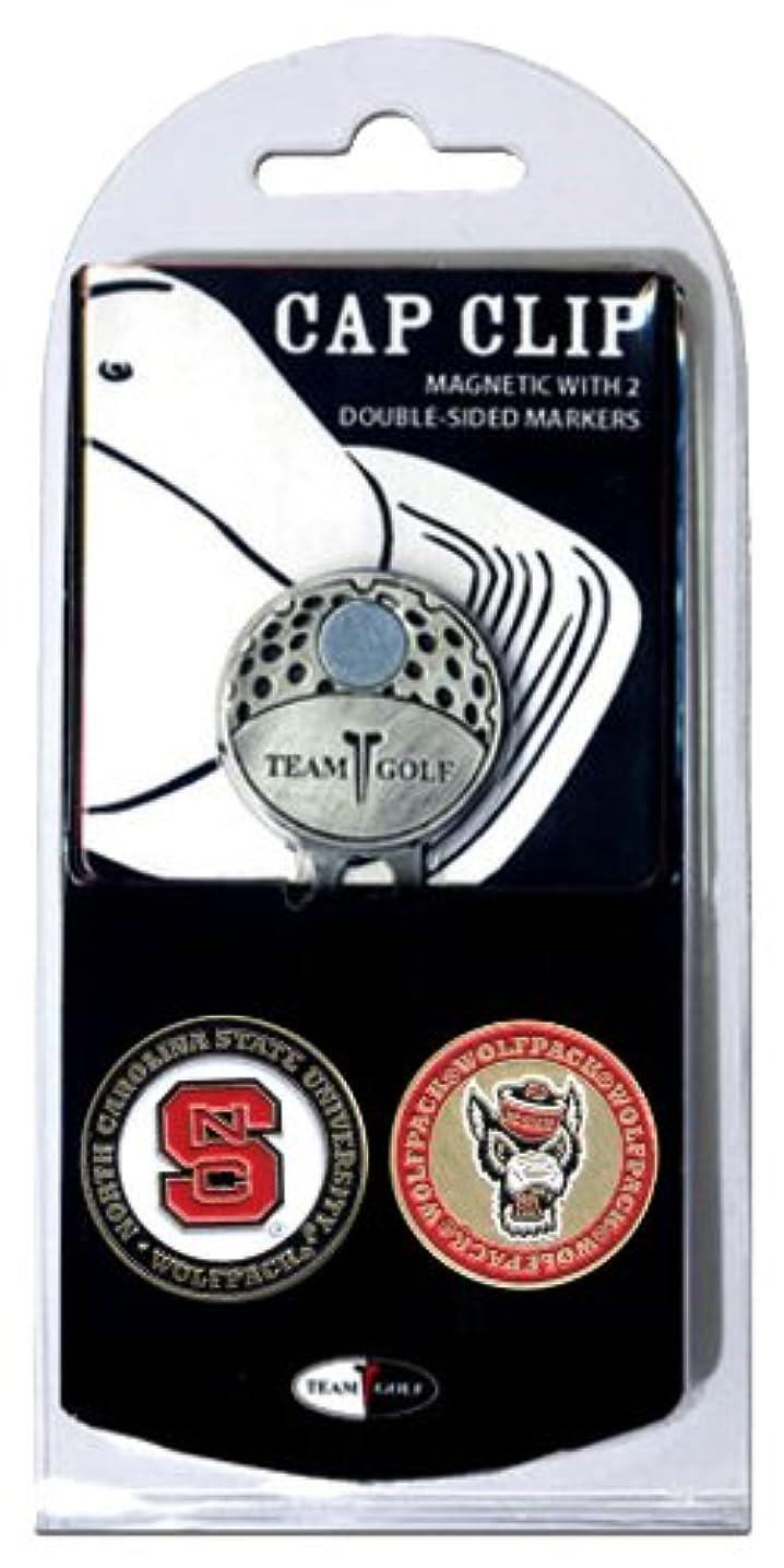 使役手首切るTeam Golf 22647 North Carolina State University Golf Ball Marker Hat Clip