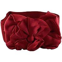CHOCOLATE PICKLE New Ladies Flower Interlock Buckle Wide Elastic Waist Belts One Size