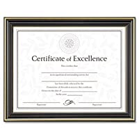 DAXN2709N6T - DAX MANUFACTURING INC. Gold-Trimmed Document Frame w/Certificate by DAX MANUFACTURING INC.