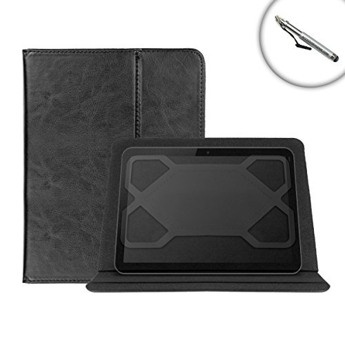 DuraSHELL 10 Inch Tablet Folio Case with表示角度調節可能な、スタイリッシュなデザイン – Works for Samsung Galaxy Tab 4 ( 10.1 inch )