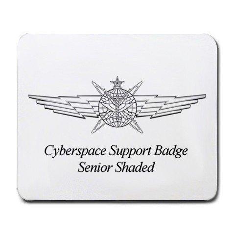 サイバースペースサポートバッジSeniorシェーディングマウ...