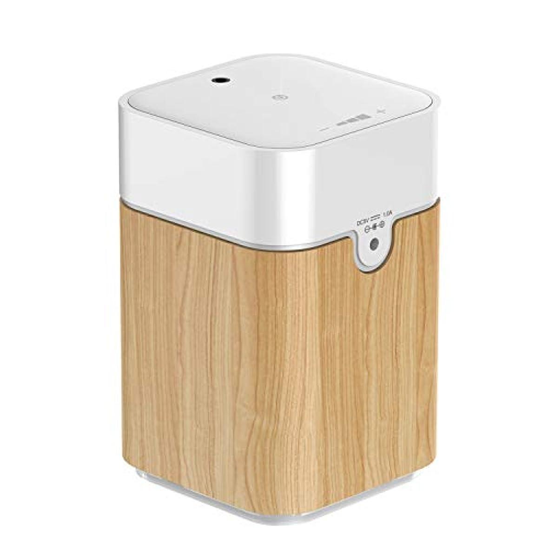 EVOON アロマディフューザー アロマオイル ネブライザー式充電式で静か アロマバーナー ヨガ室 ホテル 店舗 広く使用されている アロマライト S082W