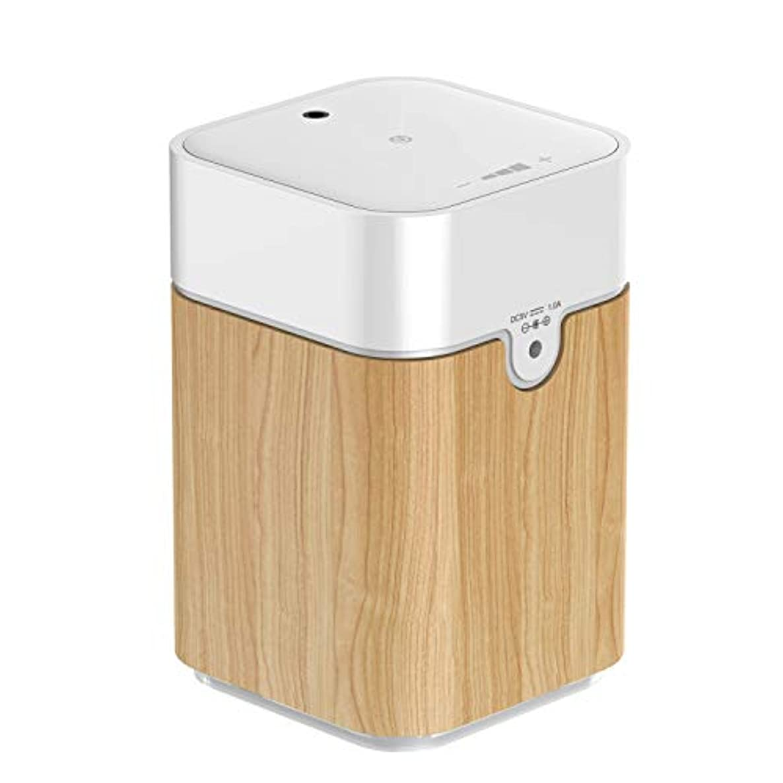 無効にする買収習熟度アロマディフューザー アロマオイル ネブライザー式充電式で静か アロマバーナー ヨガ室 ホテル 店舗 広く使用されている アロマライト S082W
