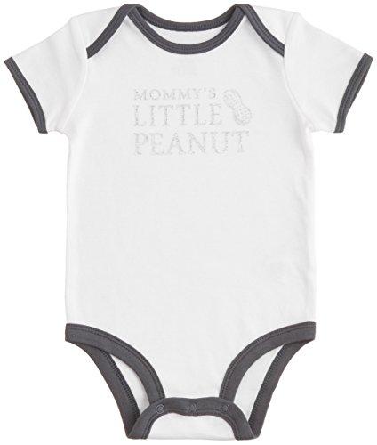 カーターズ carter's baby line 半袖ロンパース 6ヶ月 白 紺ライン ピーナッツ 綿 111A401 【並行輸入品】