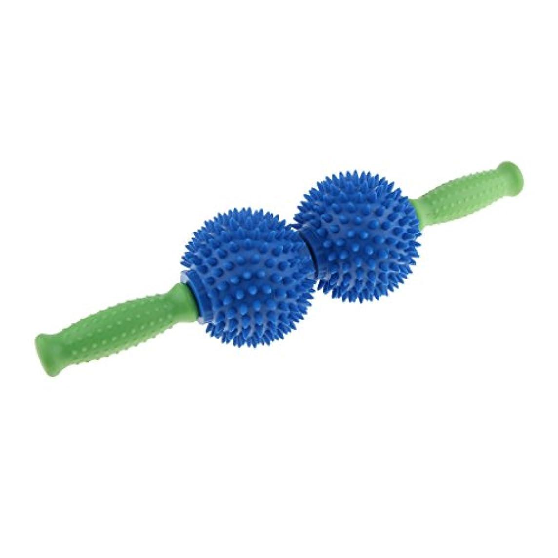 有毒なシーン協力するchiwanji マッサージローラー マッサージボール スティックローラー 筋肉 エクササイズ 用品