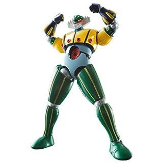 スーパーロボット超合金 鋼鉄ジーグ 約130mm ABS&PVC&ダイキャスト製 塗装済み可動フィギュア