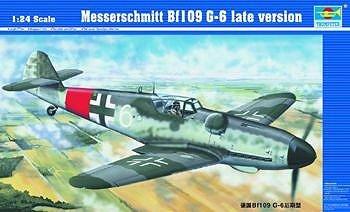 1/24 メッサーシュミット Bf109 G-6 後期型