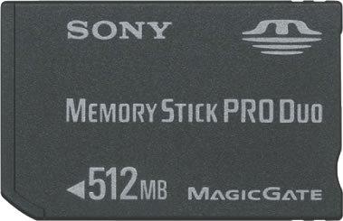 SONY ニュー・メモリースティックPROデュオ MSX-M512S  512MB