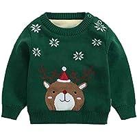 [美しいです] ベビー セーター キッズ ニットセーター 子供服 プールオーバー セーター リブニット リブ編み セーター