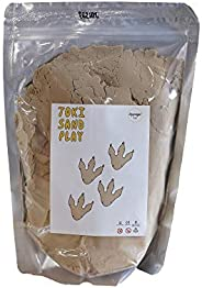 ToppingsKids Toki Sand - Brown (1kg) / Magic Sand / Sand Play / Sensory Play / Made in Korea