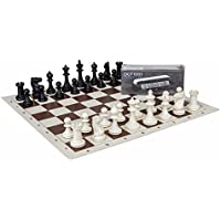 Complete chess set - chess pieces, board and timer - DGT 1001 - suitable for schools